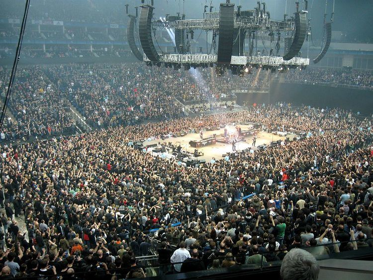 Entertainment events at the O2 Arena