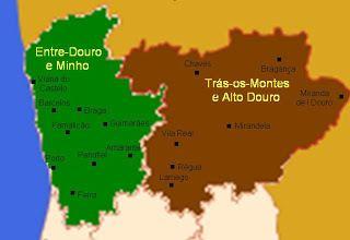 Entre-Douro-e-Minho Province Regionalizao