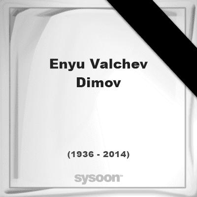 Enyu Valchev Images of Enyu Valchev Dimov 78 1936 2014 Sysoon en