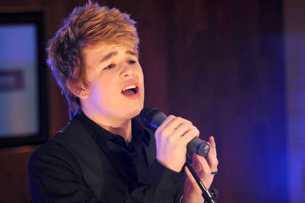 Eoghan Quigg X Factors Eoghan Quigg is now super buff and set for a major music