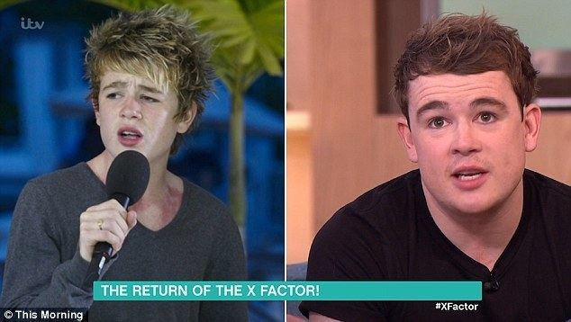 Eoghan Quigg X Factors Eoghan Quigg unveils dramatic transformation on This