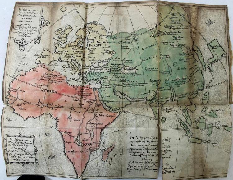 Ephraim Pagit CHRISTIANOGRAPHIE 1635 Ephraim Pagit 1st Edition 4 MAPS