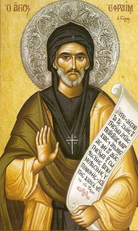 Ephrem the Syrian St Ephrem the Syrian ca 306373 Classical Christianity