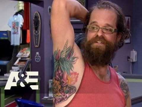 Epic Ink Epic Ink Heather Tattoos an Armpit Unicorn S1 E4 AampE YouTube