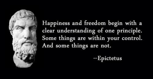 Epictetus Stoic Thoughts From Philosopher Epictetus The