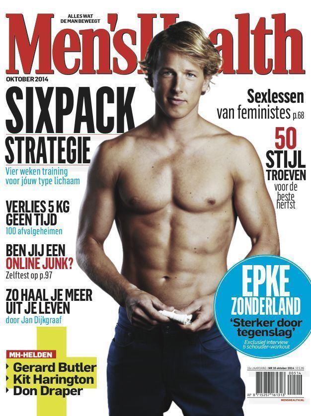 Epke Zonderland Epke Zonderland Dutch Olympic Gymnast for Mens Health Mens