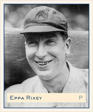 Eppa Rixey Eppa Rixey Cincinnati Reds