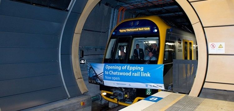 Epping to Chatswood rail link Epping to Chatswood Rail Line