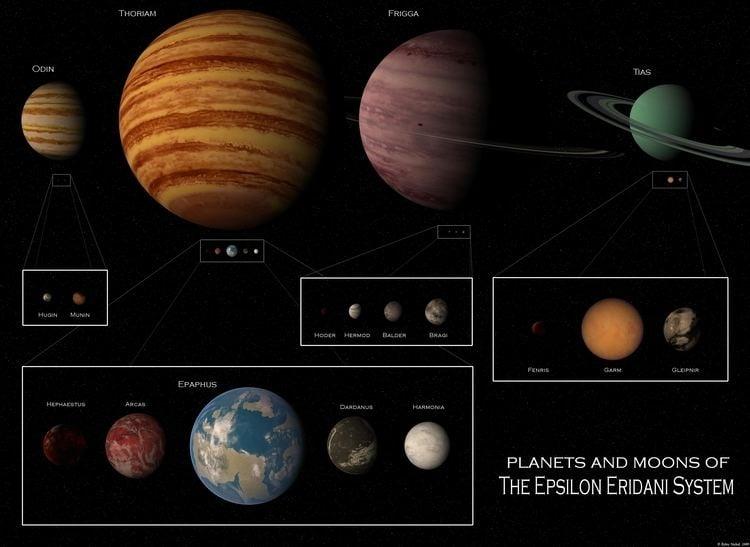 Epsilon Eridani RDD Nickel Atlas Epsilon Eridani System