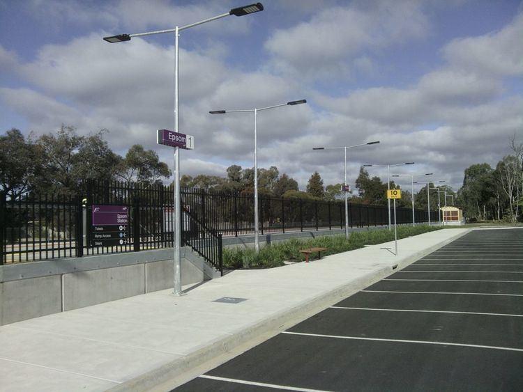 Epsom railway station, Victoria