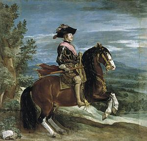Equestrian Portrait of Philip IV httpsuploadwikimediaorgwikipediacommonsthu
