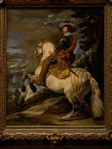 Equestrian Portrait of the Count-Duke of Olivares Art Through Time A Global View Don Gaspar de Guzmn 15871645