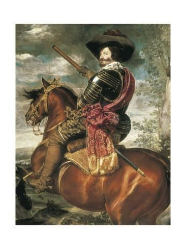 Equestrian Portrait of the Count-Duke of Olivares Equestrian Portrait of the CountDuke of Olivares Poster by Diego