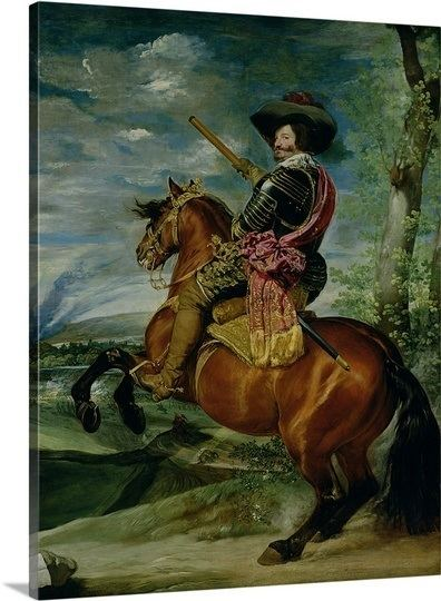 Equestrian Portrait of the Count-Duke of Olivares Equestrian Portrait of Don Gaspar de Guzman CountDuke of Olivares