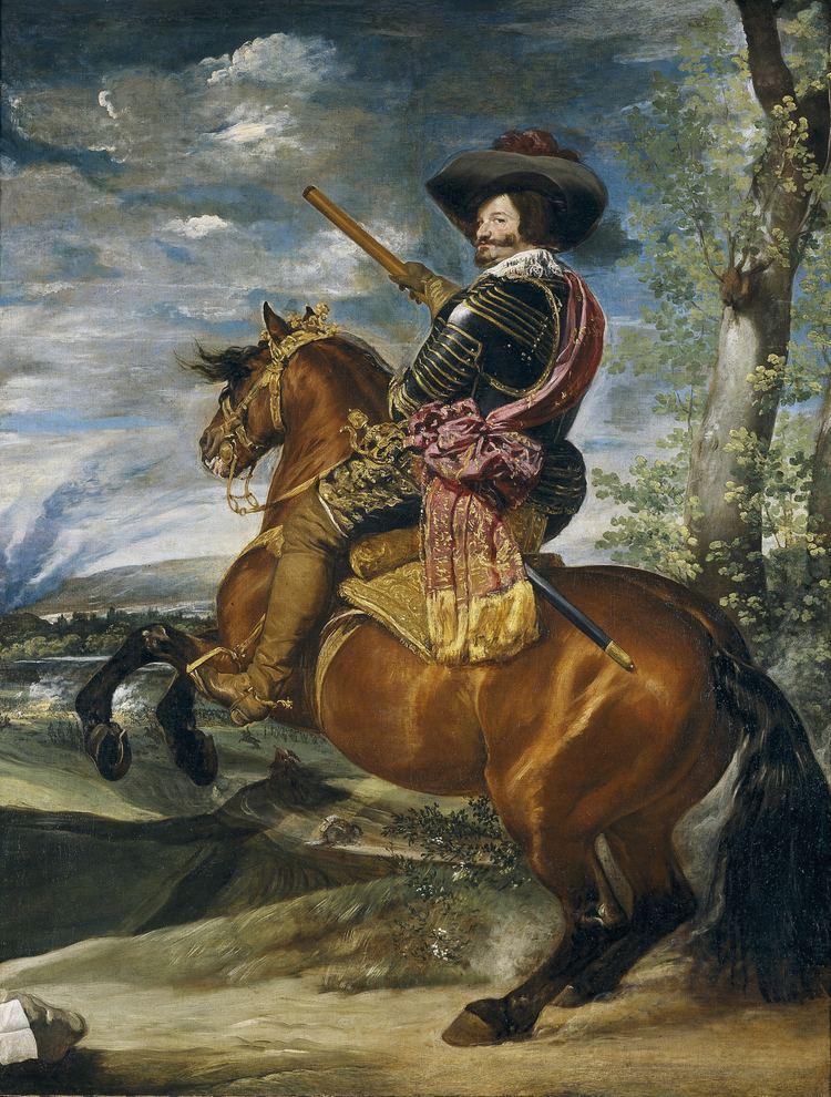 Equestrian Portrait of the Count-Duke of Olivares Equestrian Portrait of the CountDuke of Olivares Wikipedia
