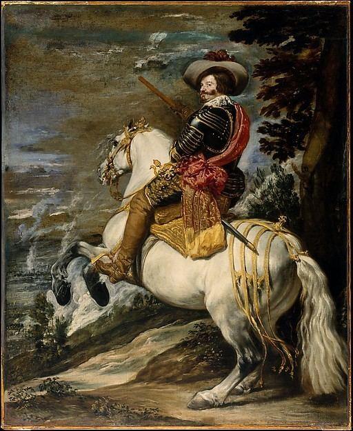 Equestrian Portrait of the Count-Duke of Olivares Attributed to Velzquez Diego Rodrguez de Silva y Velzquez Don