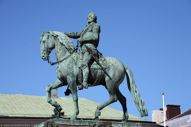 Equestrian statue Equestrian statue of King Gustav II Stockholm Pictures
