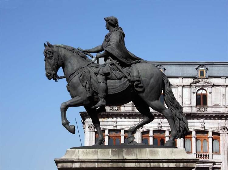 Equestrian statue Images of the Equestrian statue of Charles IV Mexico City Mexico