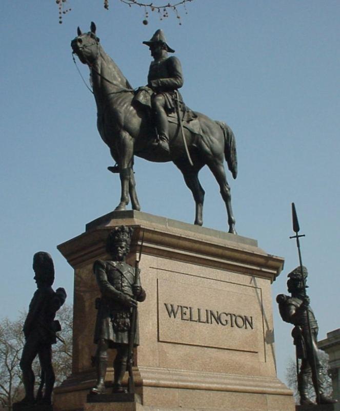 Equestrian statue of the Duke of Wellington, Hyde Park Corner