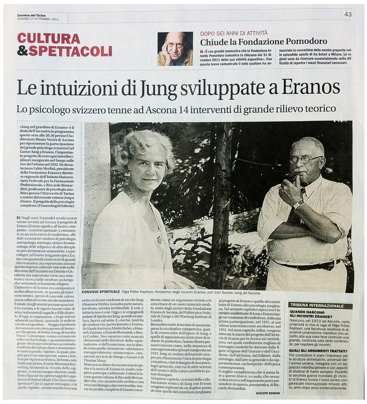 Eranos Eranos Foundation Documents