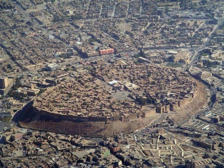 Erbil in the past, History of Erbil