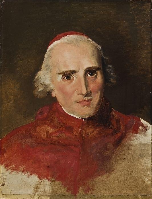 Ercole Consalvi Portrait of Cardinal Ercole Consalvi B98 Thorvaldsensmuseum