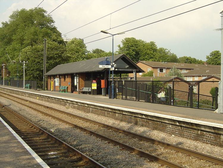 Erdington railway station