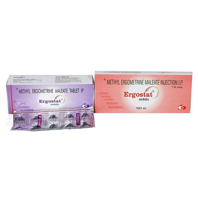 Ergometrine Methyl Ergometrine Maleate Tablets amp Injections Exporter Methyl