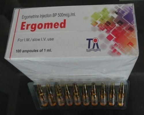 Ergometrine Ergometrine Maleate 500mcg Inj BP Ergomed in Wadala Mumbai