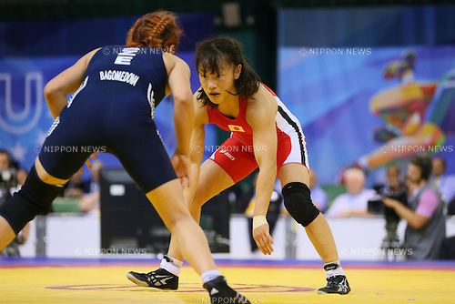Eri Tosaka Wrestling The 27th Summer Universiade 2013 Nippon News