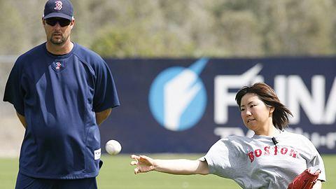 Eri Yoshida Female knuckler Yoshida to play in Minors MLBcom