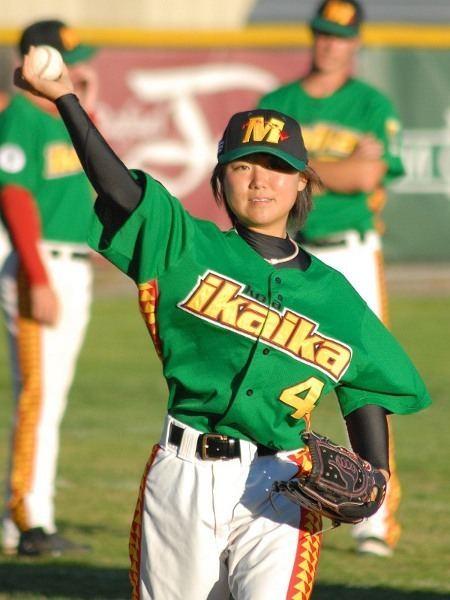 Eri Yoshida Marinerds etc Photopost etc Eri Yoshida pitches in San Rafael