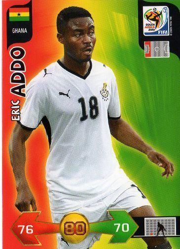 Eric Addo GHANA Eric Addo 169 FIFA South Africa 2010 Adrenalyn XL
