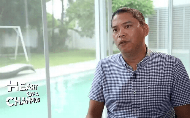 Eric Buhain Heart of a Champion Eric Buhain CNN Philippines