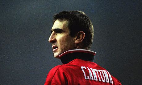 Eric Cantona Eric Cantona reveals rebel side by taking pipi out of