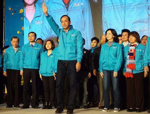 Eric Chu Eric Chu concedes defeat update Politics FOCUS TAIWAN CNA
