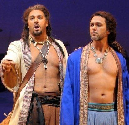 Eric Cutler Eric Cutler and Nathan Gunn in in Les pcheurs de perles Opera