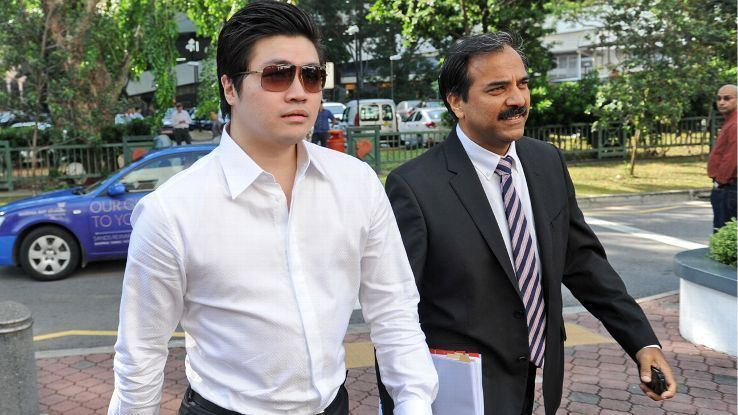 Eric Ding Singaporean businessman Eric Ding Si Yang jailed for three years for