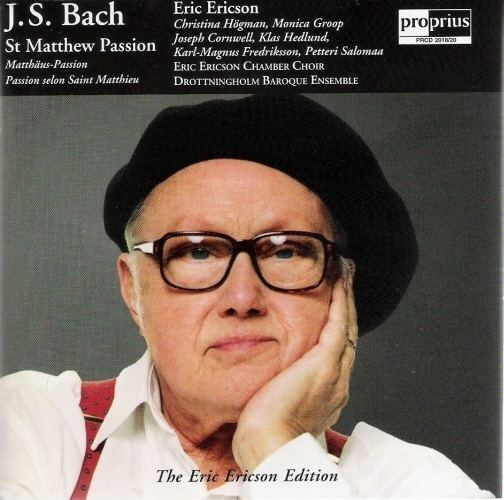 Eric Ericson Eric Ericson Bachs Vocal Works Discography