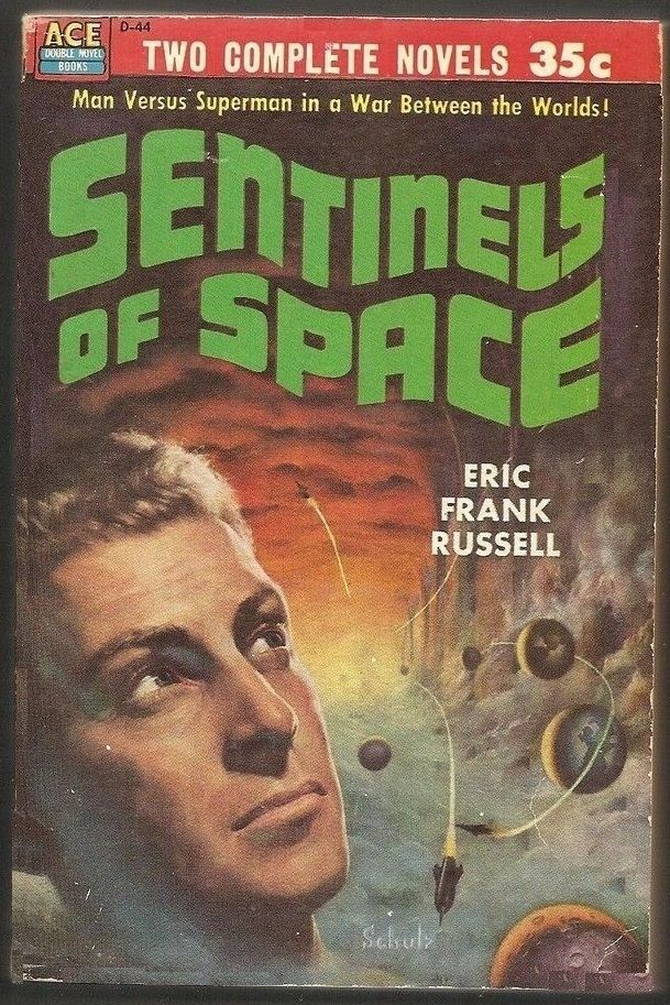 Eric Frank Russell Black Gate Articles Vintage Treasures Sentinels of
