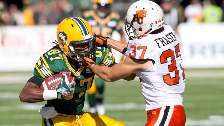 Eric Fraser (Canadian football) Eric Fraser defensive back resigns with BC Lions CBC Sports
