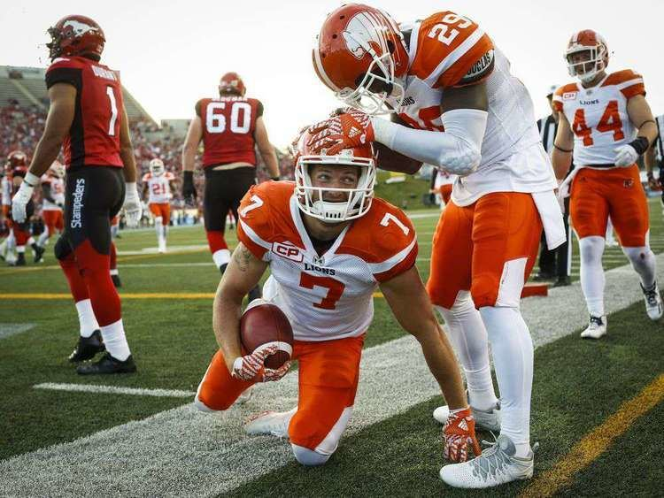 Eric Fraser (Canadian football) Eric Fraser QA Flying high with the Lions safety The Province