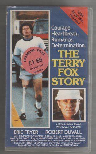 Eric Fryer (actor) The Terry Fox Story VHS 1983 Robert Duvall Eric Fryer