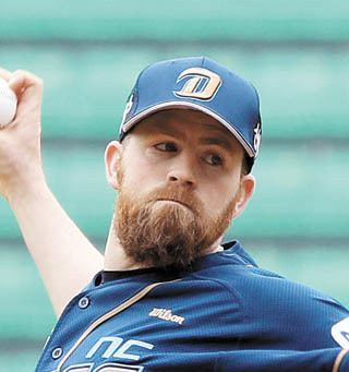 Eric Hacker Luck turns for Dinos righty Eric Hacker NC DinosINSIDE Korea