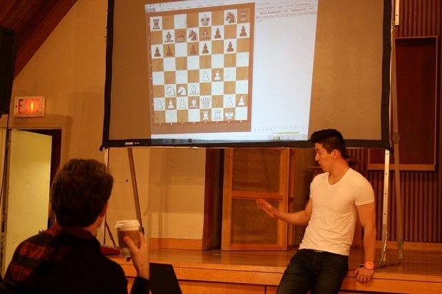 Eric Hansen (chess player) Two GMs Grandmaster Chess Lectures in Toronto Annex