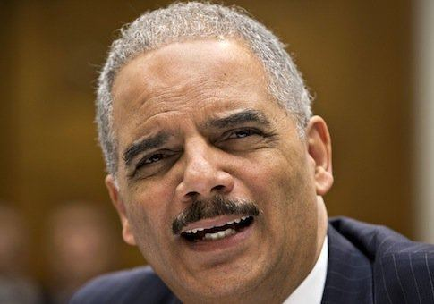 Eric Holder Eric Holder39s RaceBaiting Attack on Congress Frontpage Mag
