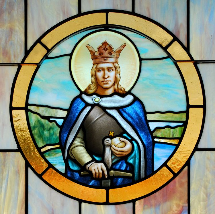 Eric IX of Sweden St Eric of Sweden Plamen Petrov