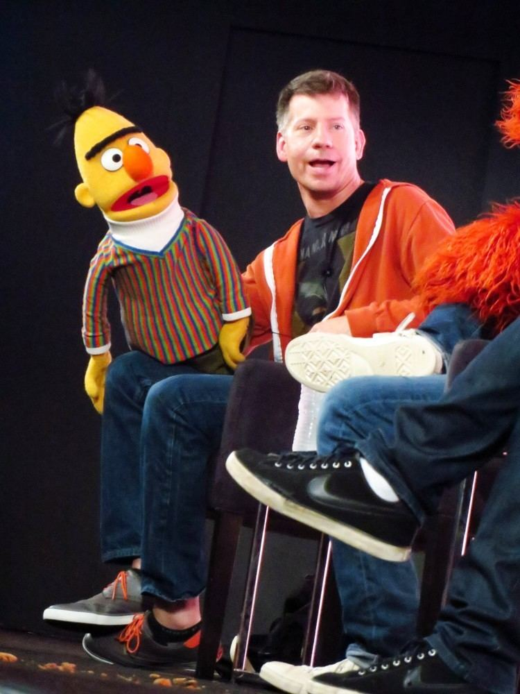 Eric Jacobson Eric Jacobson as Bert Sesame Street MUSIC Actors Playing A