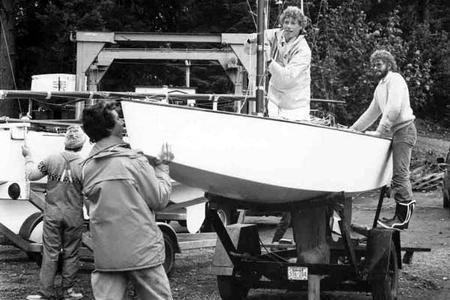 Eric Jespersen Eric Jespersen Jespersen Boats Sidney BC Heritage of Custom Boat