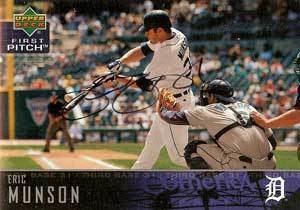 Eric Munson Eric Munson Baseball Stats by Baseball Almanac